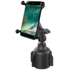 RAM X-Grip Universal Phablet Cradle with Stubby Cup Holder Mount