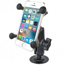 RAM X-Grip Universal SmartPhone Cradle with Adhesive Mount & Comp. Arm