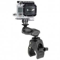 RAM Action Camera / GoPro Mount w/ Small Tough-Claw Base & Short Comp. Arm