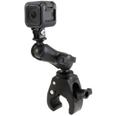 RAM Action Camera / GoPro Mount w / Small Tough-Claw & Medium Comp. Arm