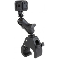 RAM Action Camera / Go Pro Mount w/ Medium Tough-Claw Base & Std Arm - Alloy