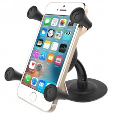 RAM X-Grip Universal Phone Cradle with Lil Buddy Adhesive Mount